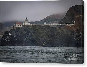 Sausalito Canvas Print - Point Bonita Light House by Mitch Shindelbower