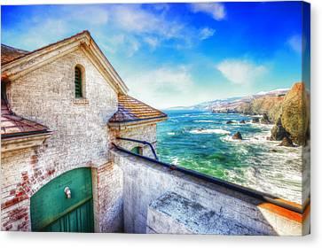 Point Bonita Lighthouse - Marin Headlands 4 Canvas Print by Jennifer Rondinelli Reilly - Fine Art Photography