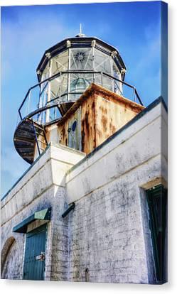 Point Bonita Lighthouse - Marin Headlands 6 Canvas Print by Jennifer Rondinelli Reilly - Fine Art Photography