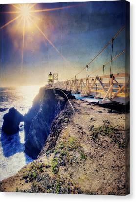 Point Bonita Lighthouse - Marin Headlands 7 Canvas Print by Jennifer Rondinelli Reilly - Fine Art Photography