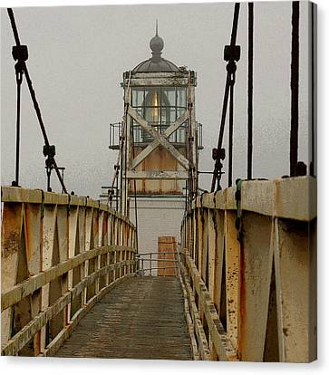 Point Bonita Lighthouse Canvas Print by Art Block Collections