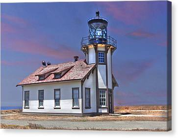 Canvas Print featuring the photograph Point Cabrillo  by Kandy Hurley
