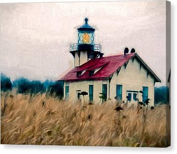 Point Cabrillo Lighthouse Canvas Print