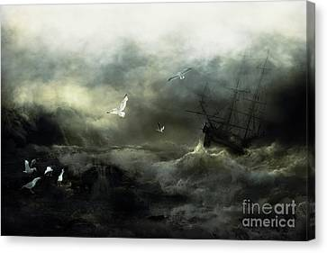 Point Danger Canvas Print by Shanina Conway