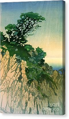 Point Lobos California 1920 Canvas Print by Padre Art