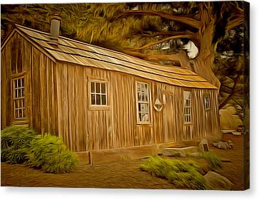 Point Lobos Whalers Cabin Canvas Print