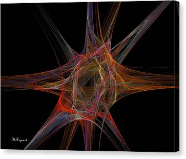 Point Of Origin Canvas Print by Malcolm Regnard