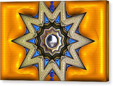 Point Of View - Gold Canvas Print by Wendy J St Christopher