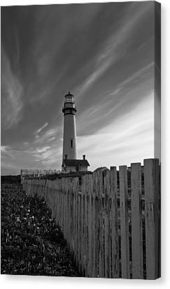 Canvas Print featuring the photograph Point Pigeon Lighthouse by Jonathan Nguyen