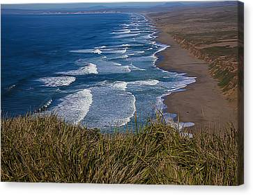 Point Reyes Beach Seashore Canvas Print by Garry Gay