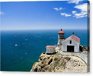 Point Reyes Lighthouse California Canvas Print