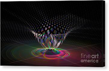 Point   V   One Canvas Print by Peter R Nicholls