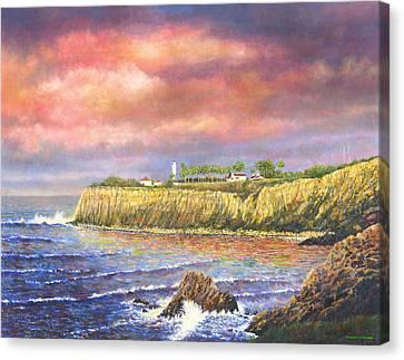 Point Vicente Lighthouse Canvas Print by Douglas Castleman