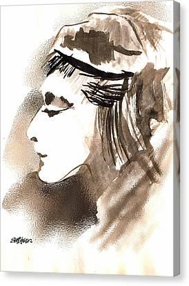 Poise Canvas Print by Seth Weaver