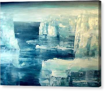 Polar Bear Canvas Print by Charlie Baird
