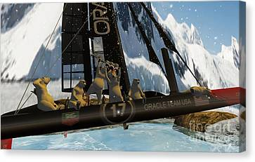 Polar Cup  Canvas Print by John Mangino