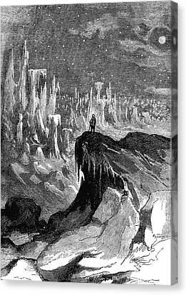 Polar Landscape Canvas Print by Collection Abecasis