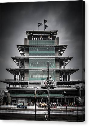 Pole Day At The Indy 500 Canvas Print