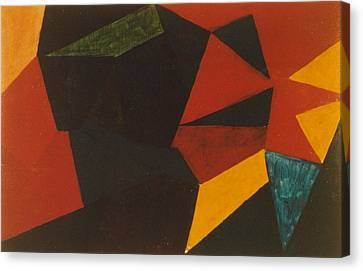 Poliakoff Homage 1972 Canvas Print