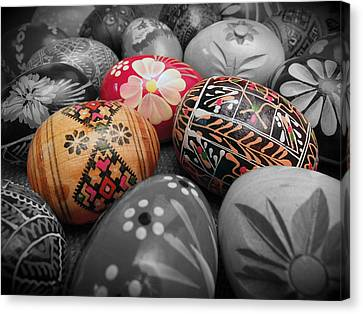 Polish Eggs Canvas Print by Scott Kingery
