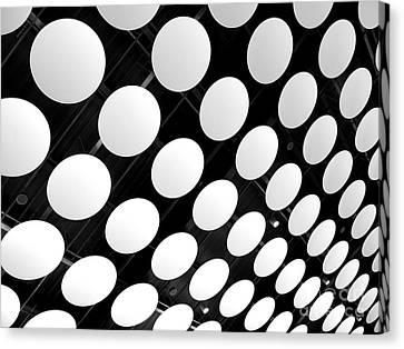 Polka Dots Canvas Print by Ann Horn