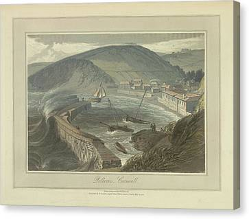 Polkerris Canvas Print by British Library