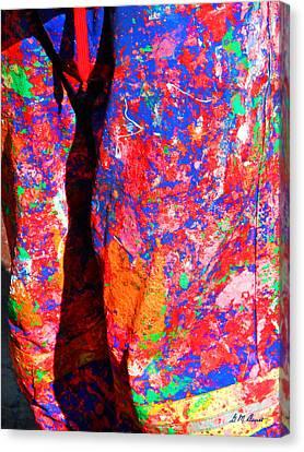 Pollock Pants Canvas Print