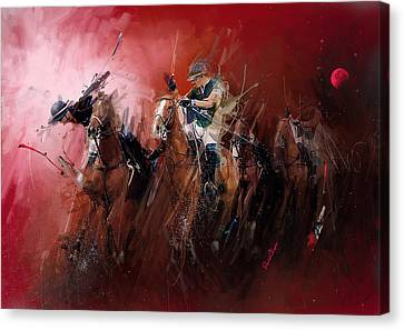 Polo Canvas Print