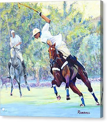 Polo Canvas Print by David Randall