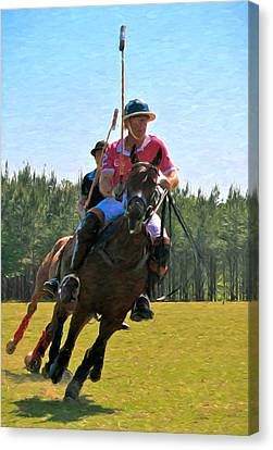 Polo Canvas Print