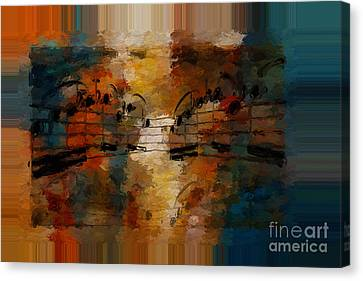 Polychromatic Postlude 5 Canvas Print