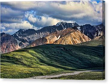 Polychrome Pass Canvas Print by Heather Applegate