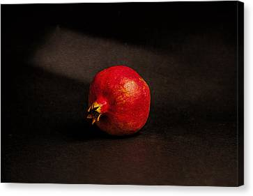 Pomegranate Canvas Print by Peter Tellone