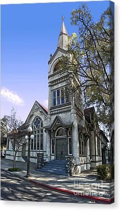 Pomona Seventh Day Adventist Church - 02 Canvas Print