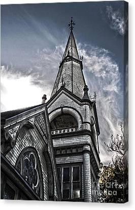 Pomona Seventh Day Adventist Church Canvas Print