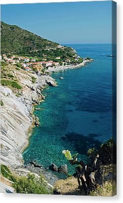 Pomonte, Isola D'elba, Elba, Tuscany Canvas Print by Nico Tondini