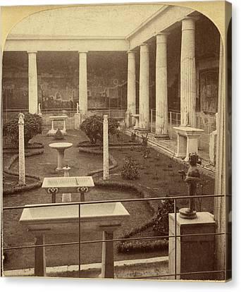 Pompeii House, 1897 Canvas Print