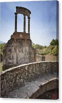 Pompeii Ruins Canvas Print by Kim Andelkovic