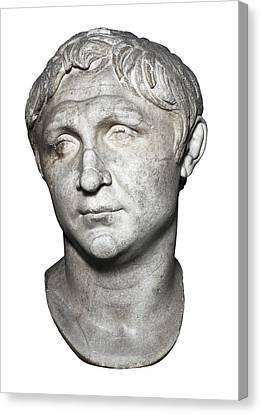 Pompey The Great 106-48 Bc. Roman Canvas Print