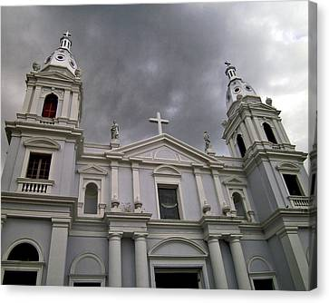 Ponce Cathedral Canvas Print