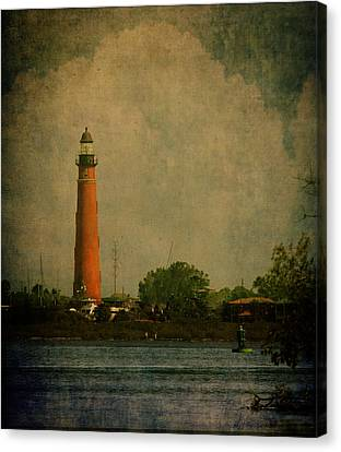 Ponce De Leon Light House Canvas Print by Dorothy Cunningham