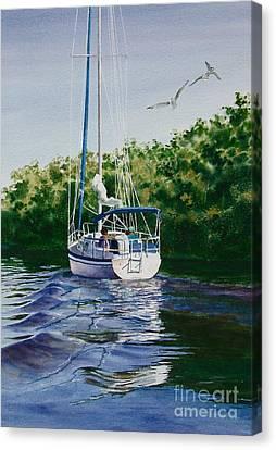 Ponce De Leon Passage Canvas Print by Karol Wyckoff