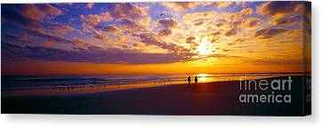 Ponce Inlet Fl Sunrise  Canvas Print