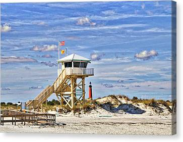 Ponce Inlet Scenic Canvas Print by Alice Gipson