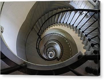 Ponce Stairs Canvas Print by Laurie Perry