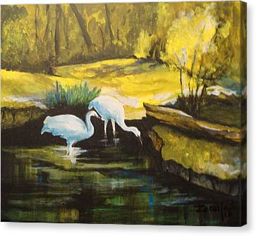 Pond 2 Canvas Print