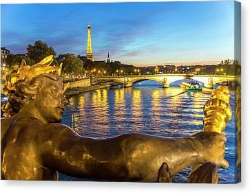 Pont Alexandre Iii Canvas Prints