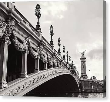 Pont Alexandre IIi Canvas Print by Melanie Alexandra Price