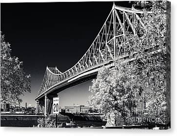 Pont Jacques Cartier Canvas Print