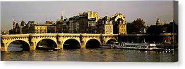 Pont Neuf Bridge, Paris, France Canvas Print by Panoramic Images